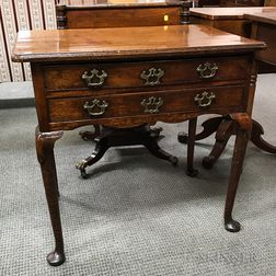 George II Walnut Dressing Table