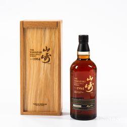 Yamazaki 25th Anniversary 1984, 1 750ml bottle (owc)