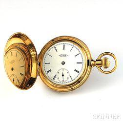 Elgin 14kt Gold Hunting Case Pocket Watch