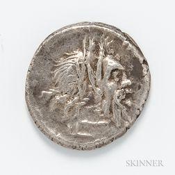 Roman Republic, D. Junius Silanus AR Denarius