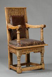 Joined Oak Great Chair