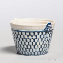 Pearlware Miniature/Toy Bulb Pot