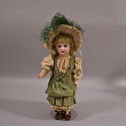 Bébé Jumeau Bisque Head Doll