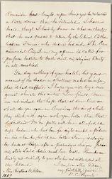 Bryant, William Cullen (1794-1878) Autograph Letter Signed, 25 December 1869.