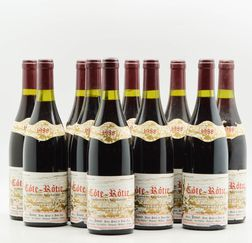 Jamet Cote Rotie 1988, 10 bottles