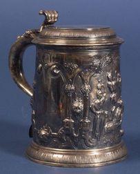 Early Georgian Silver Tankard