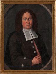 Dutch School, Early 18th Century      Portrait of a Man in a Brown Coat