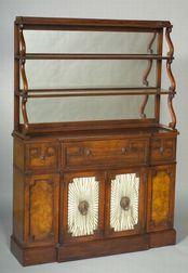 Regency Style Mahogany Side Cabinet