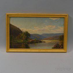 John Douglas Woodward (American, 1846-1924)      Figure in a Rowboat