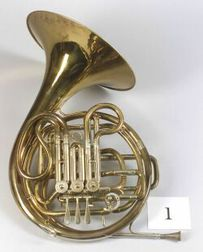 French Horn, Ed. Kruspe, Erfurt