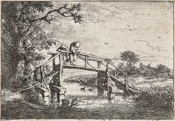 Adriaen Jansz van Ostade (Dutch, 1610-1685)      The Anglers