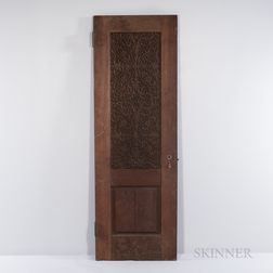 Lockwood de Forest (American, 1850-1932) Indo-Islamic Carved Teak Door