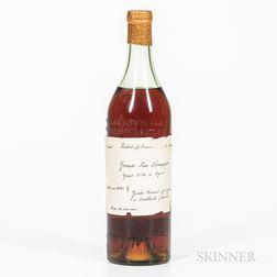 Grande Fine Champagne Grand 1er Cru de Cognac, 1 4/5 quart bottle