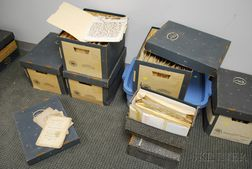 Large Archive of Correspondence, Commercial and Diplomatic Paper from the Wetmore   Family