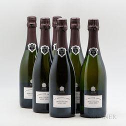 Bollinger La Grande Annee Rose 2007, 6 bottles (oc)