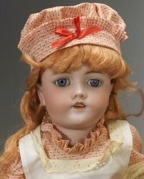 Handwerck Bisque Head Doll