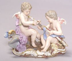 Meissen Porcelain Figural Group