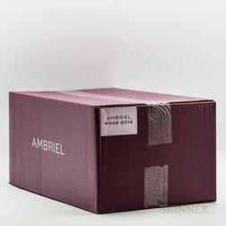 Ambriel Rose 2014, 6 bottles (oc)