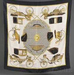 Two Silk Scarves, Hermes