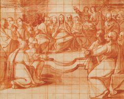Attributed to Belisario Corenzio (Italian, 1558-1640)      Pentecost