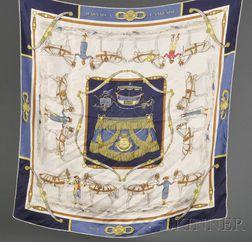 Three Silk Scarves, Hermes