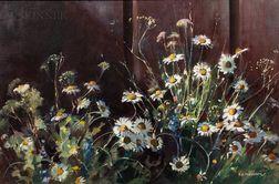 Stephen George Maniatty (American, 1910-1984)      Dizzy Daisies