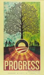Progress  , Poster for Barack Obama Campaign