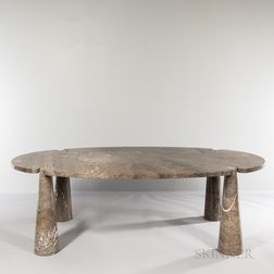 Angelo Mangiarotti (Italian, 1921-2012) for Skipper Eros Dining Table