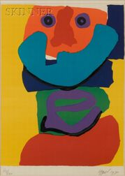 Karel Appel (Dutch, 1921-2006)    Figure