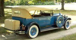 *1930 Packard Deluxe Eight Phaeton, Vin # 185236, Model 740