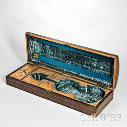 English Violin Case, W.E. Hill & Sons, London, c. 1890