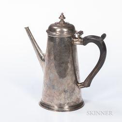 George II Sterling Silver Coffeepot