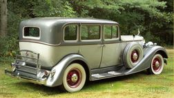 *1934 Packard Std 8 Sedan, Vin # 19901981