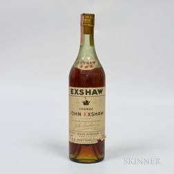Exshaw Three Star, 1 4/5 quart bottle