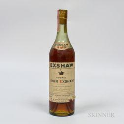 Exshaw Three Star, 1 4/5 quart bottle