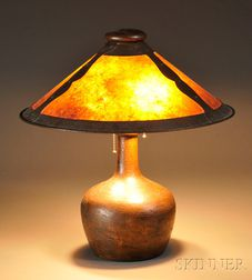 Arts & Crafts-style Table Lamp