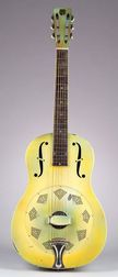American Resonator Guitar, National String Instrument Company,  1932, Style Triolian