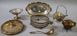 Six Sterling Silver Table Items
