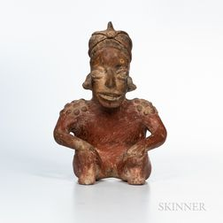 Jalisco Seated Figure