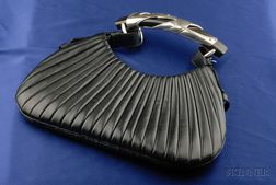Leather Handbag, Yves St Laurent