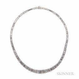 Platinum and Diamond Necklace, Oscar Heyman