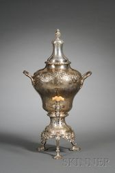George III Silver Hot Water Urn
