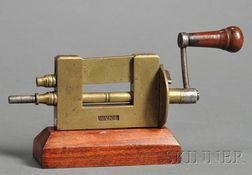Brass and Steel Mainspring Winder