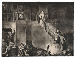 George Wesley Bellows (American, 1882-1925)      Murder of Edith Cavell