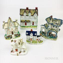 Five Staffordshire Cottages