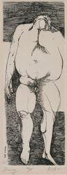 Leonard Baskin (American, 1922-2000)      Hung