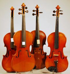 Four Modern German Violins