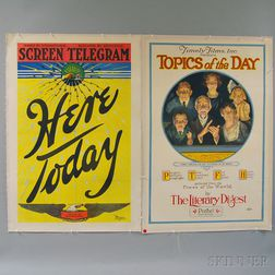 Three U.S. Entertainment Posters