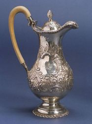 Irish Sterling Coffeepot