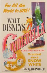 Walt Disney Cinderella   Movie Poster
